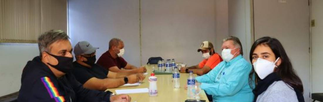 Secretária de esportes reuniu com diretoria da Liga de Itabira