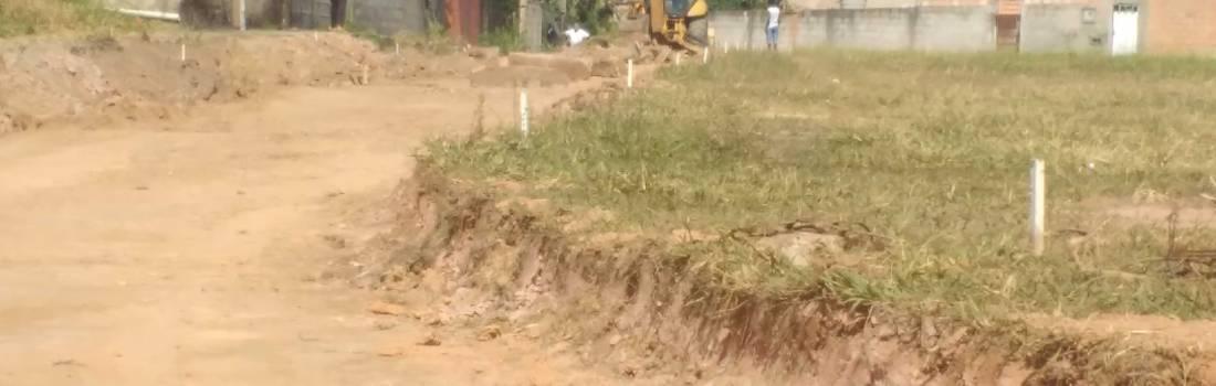 Prefeitura de Itabira, inicia obras no campo do São Lourenço