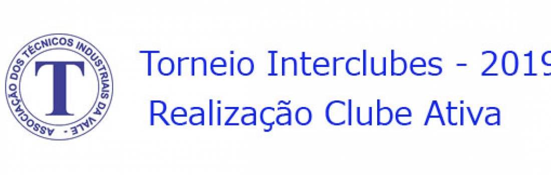Torneio Interclubes Ativa - 2019